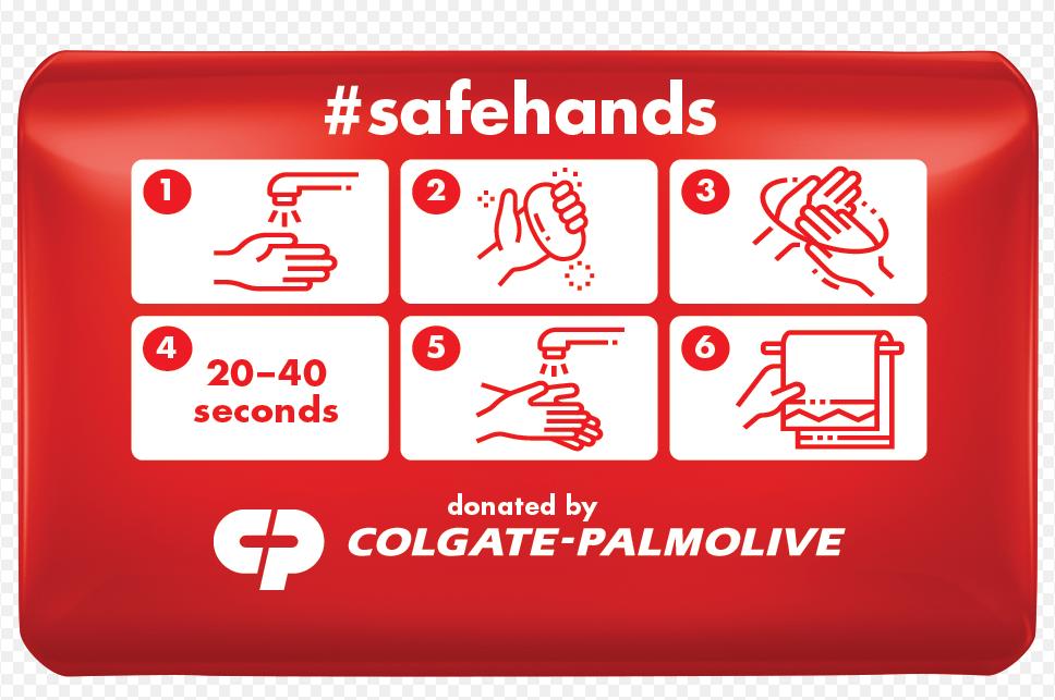 Colgate - Palmolive doneaza peste 65.000 de produse pentru sanatate si igiena in Romania si sprijina campania globala #SafeHands pentru combaterea COVID - 19