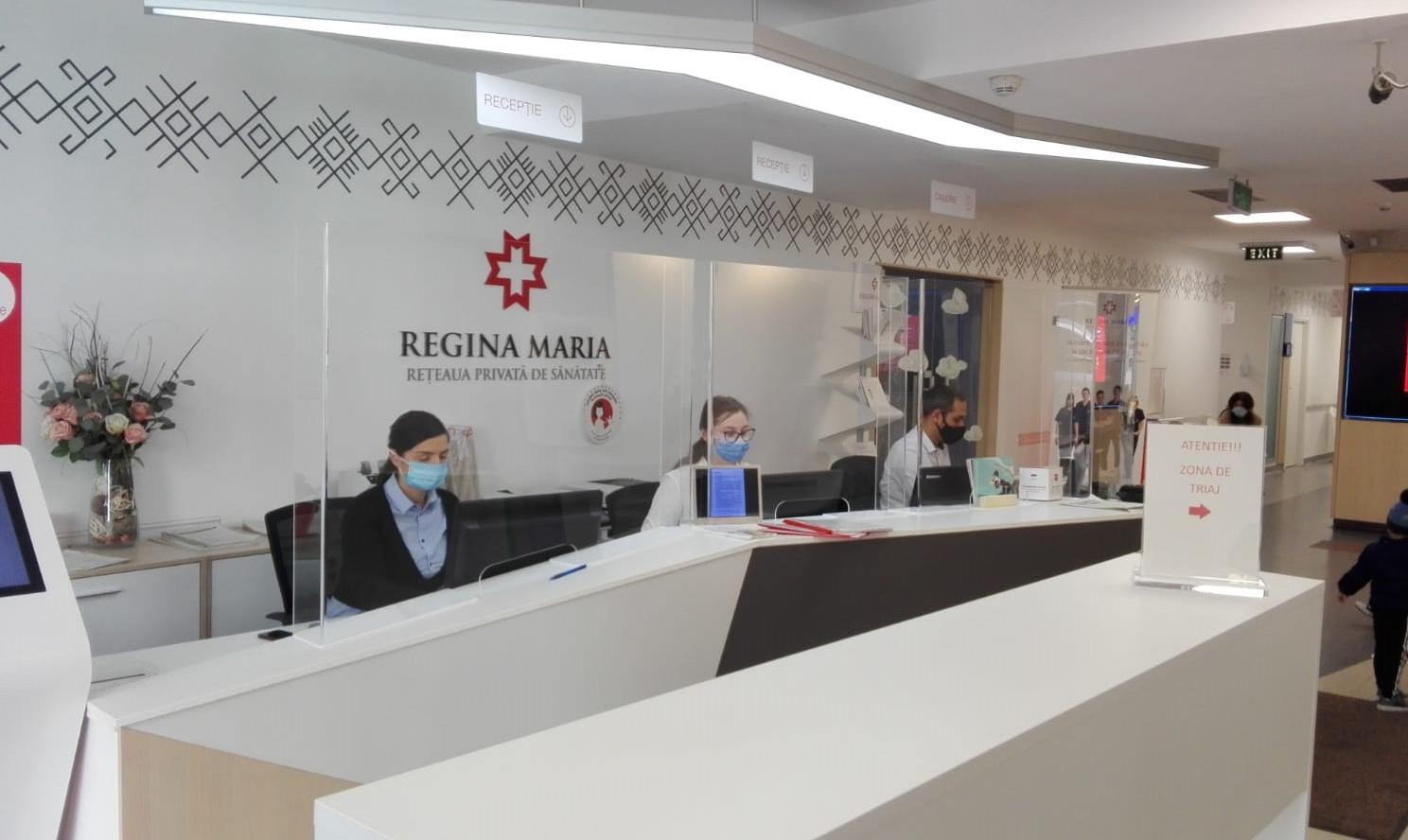 Reteaua de sanatate REGINA MARIA ofera gratuit analize si consultatii post COVID-19